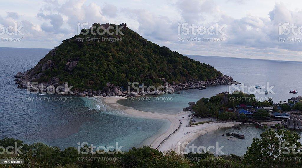 Naungyaun Island stock photo