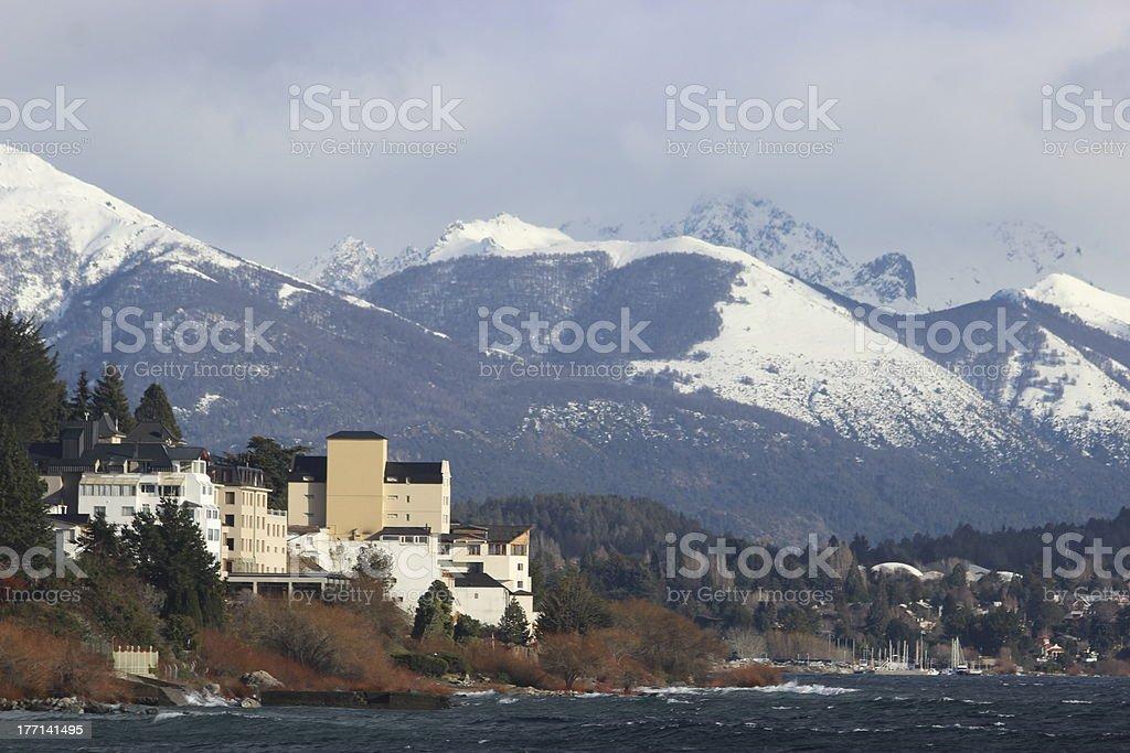Naupel Huapi Lake at Bariloche - Argentina royalty-free stock photo