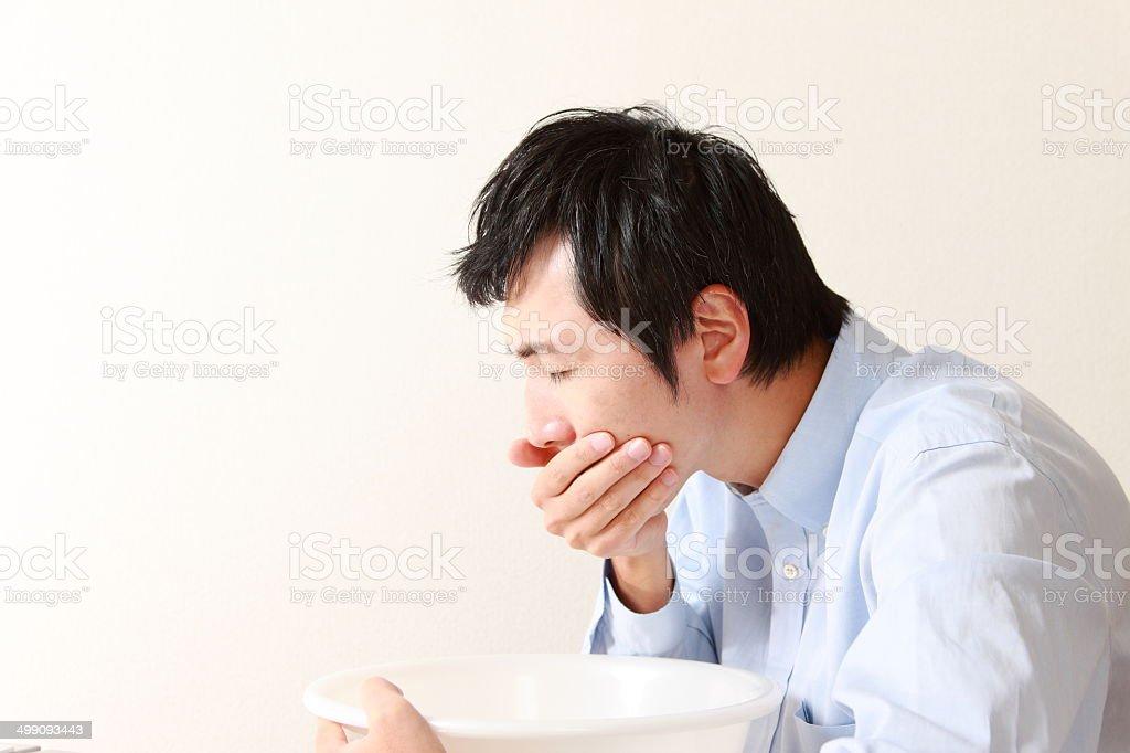 nausea stock photo