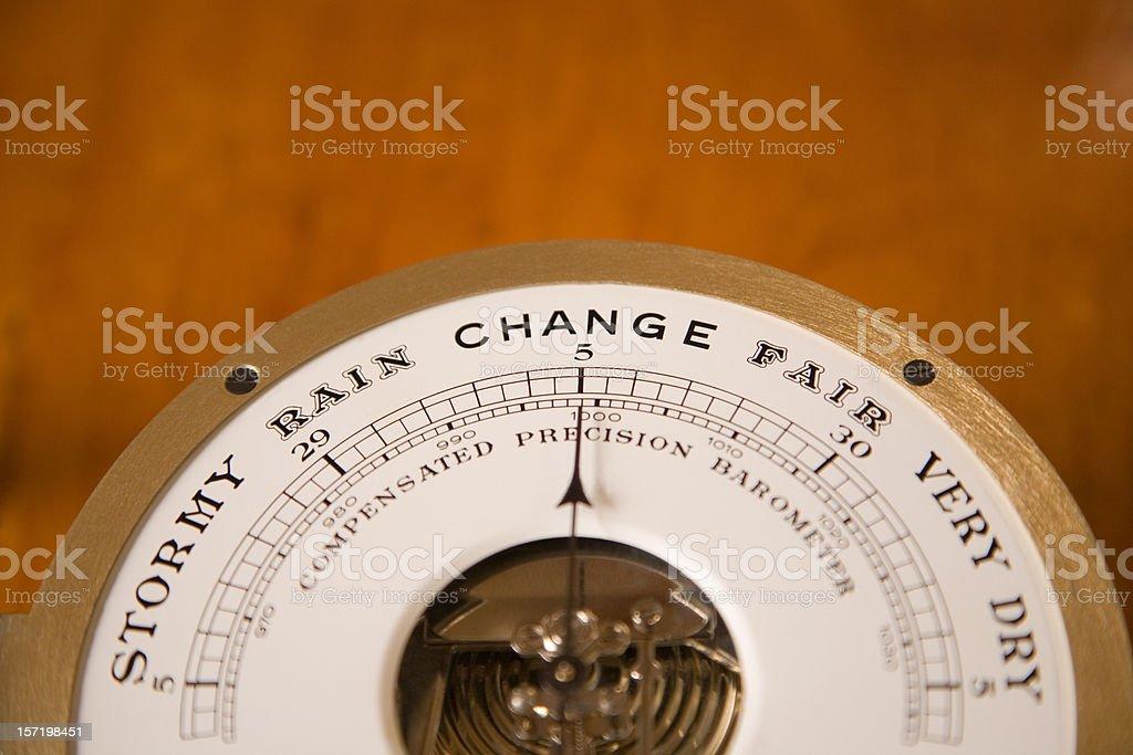 Nautical Barometer royalty-free stock photo