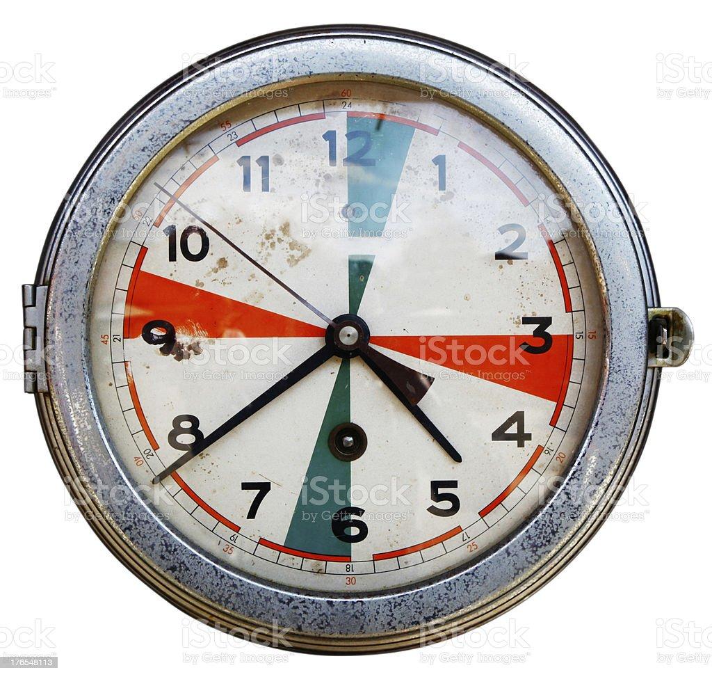 Nautical Clock royalty-free stock photo
