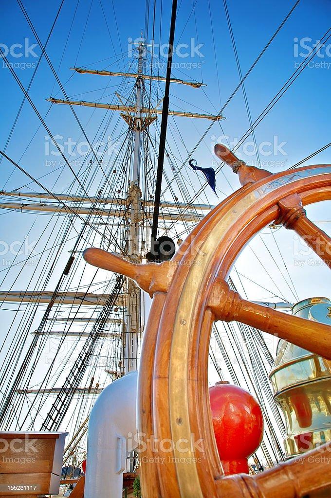 Nautical royalty-free stock photo