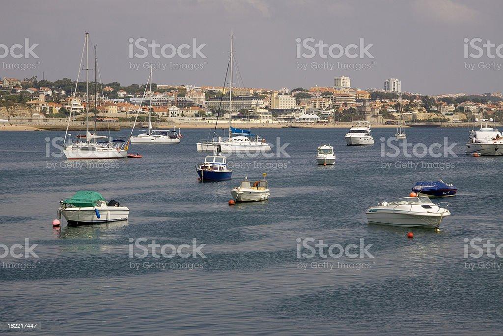 Nautical Vessel near Estoril stock photo