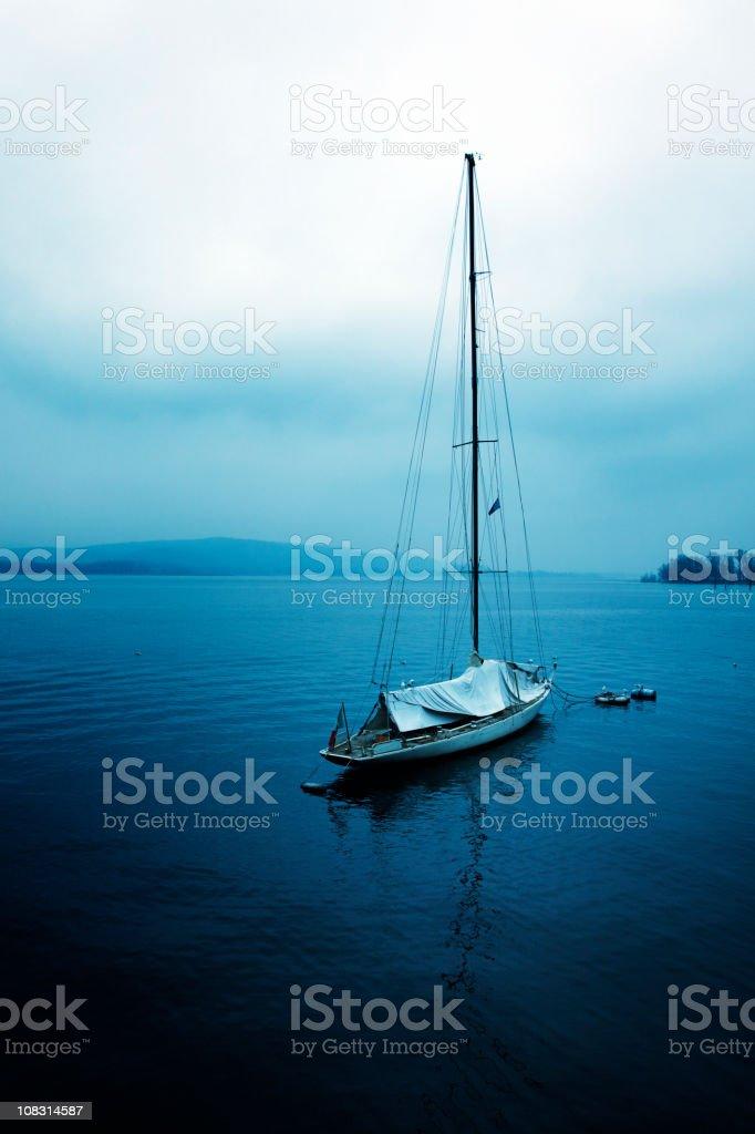 Nautical Vessel. Toned Image stock photo