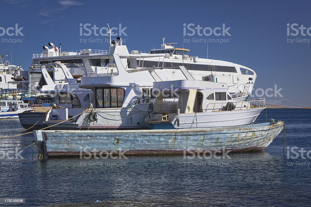 Nautical Vessels royalty-free stock photo