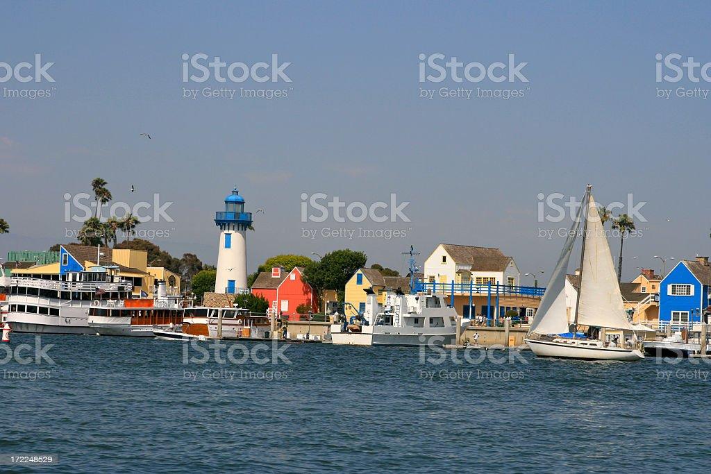 Nautical Village stock photo