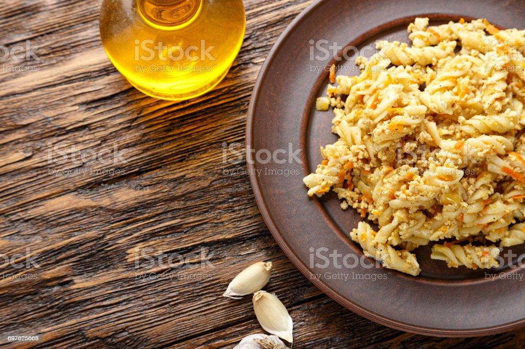 nautically pasta stock photo