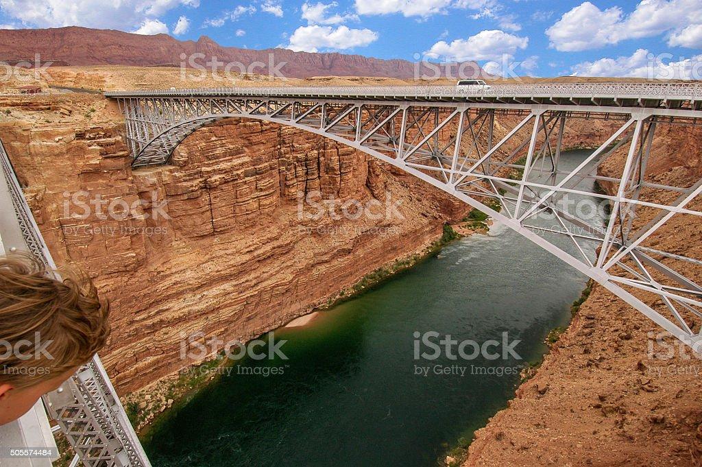 Navajo Bridges stock photo