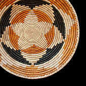 Navajo Wedding Basket Pattern Background