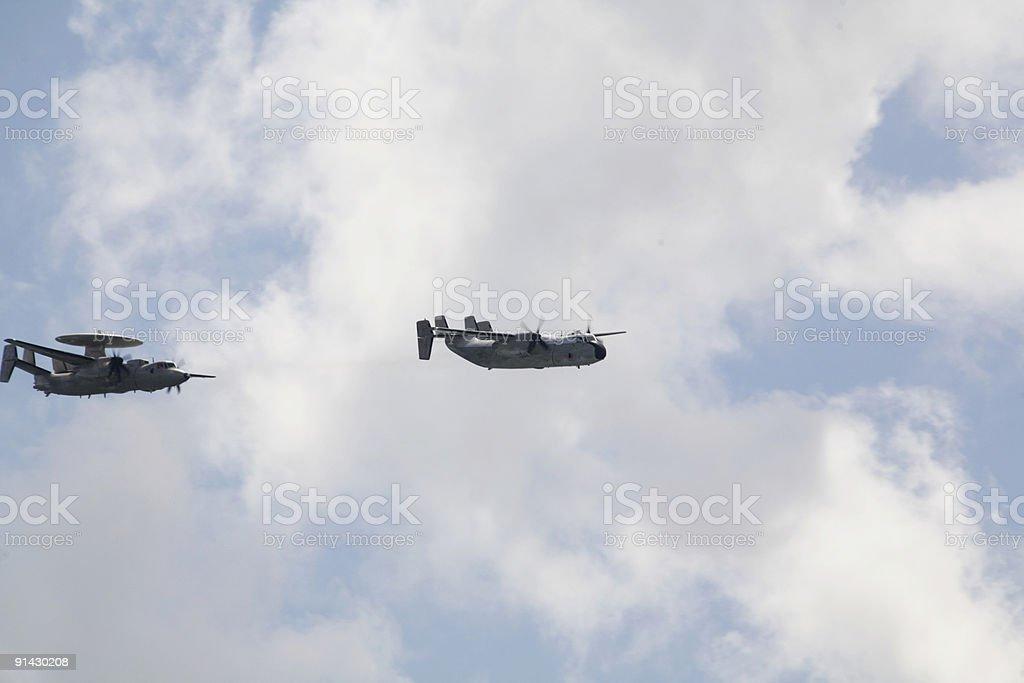 Naval Aircraft stock photo