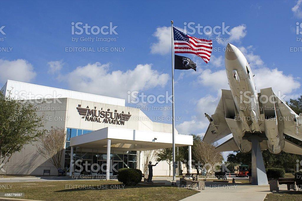 Naval Aviation Museum stock photo