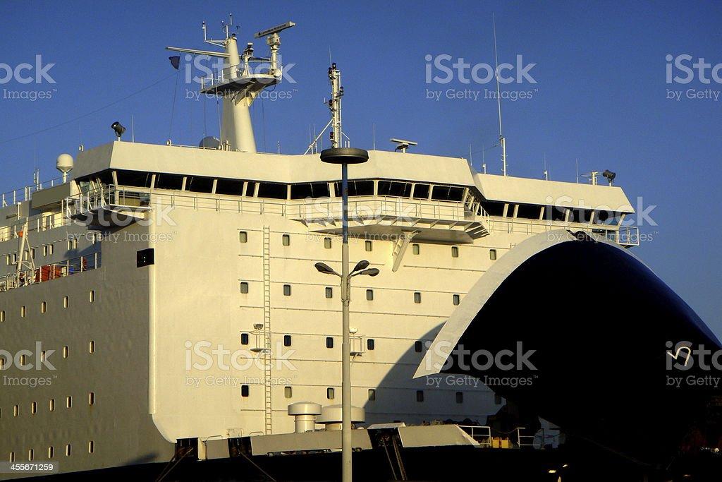 nave traghetto royalty-free stock photo