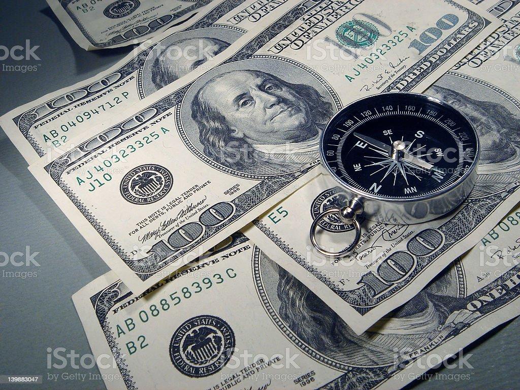 Navigating Financial Waters royalty-free stock photo