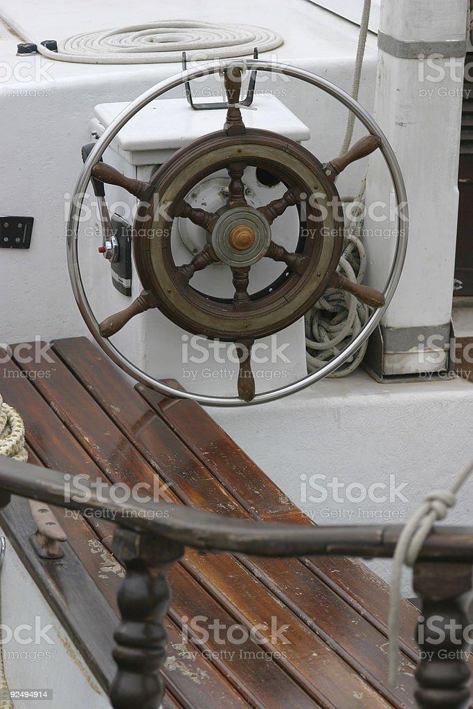 Navigating point stock photo