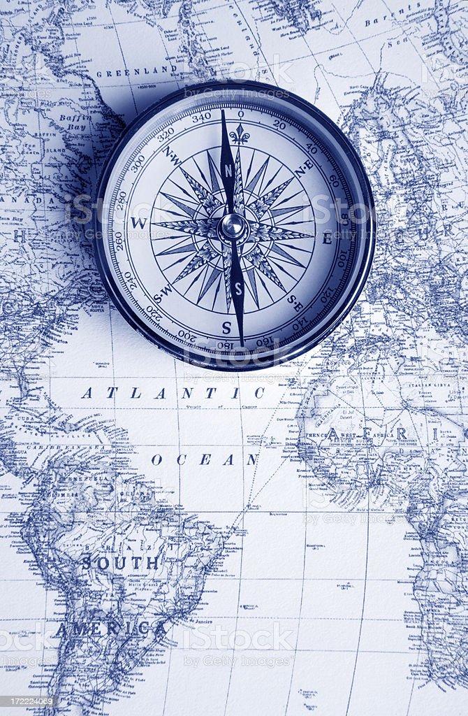 Navigating the World stock photo