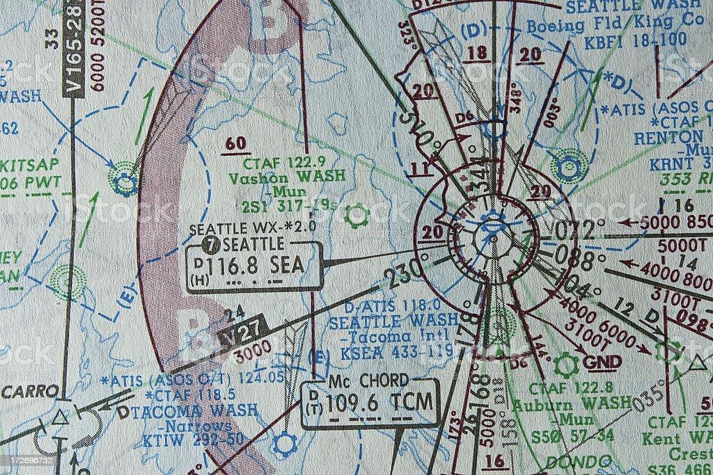navigation chart royalty-free stock photo