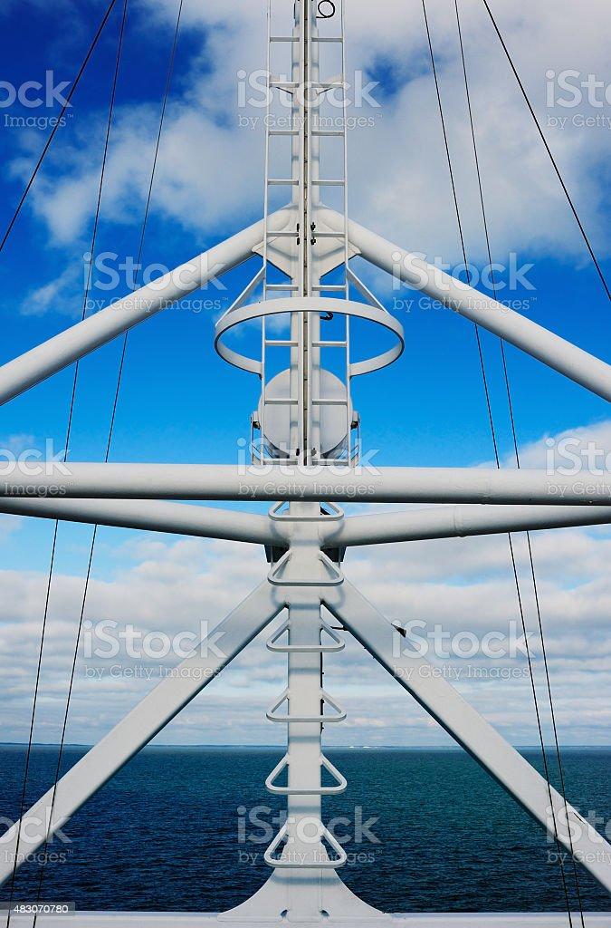 Navigation equipment stock photo