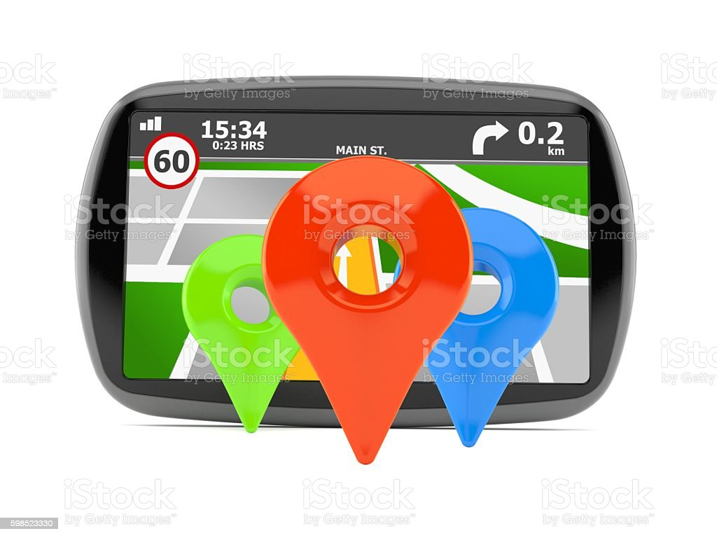 Navigation stock photo