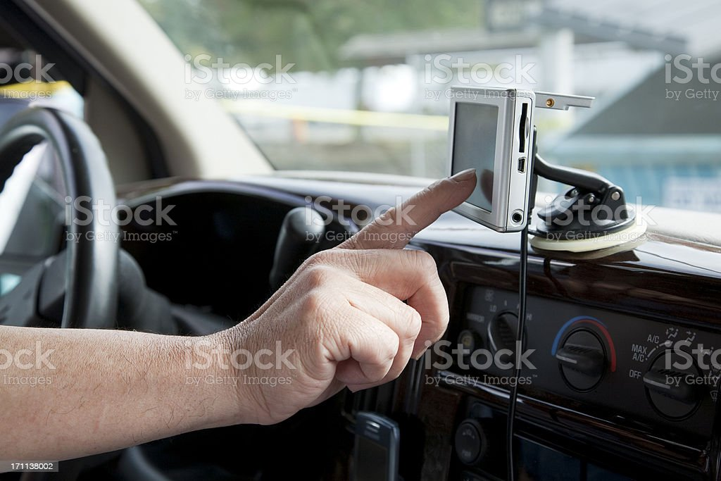 Navigation system royalty-free stock photo