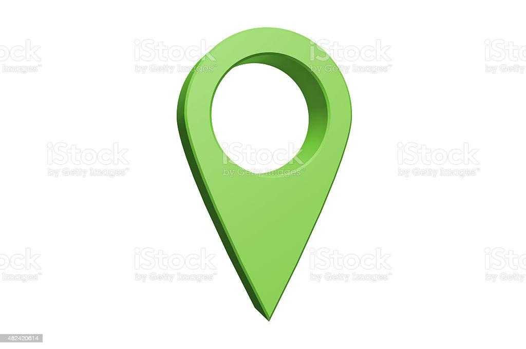 Navigational Pointer stock photo