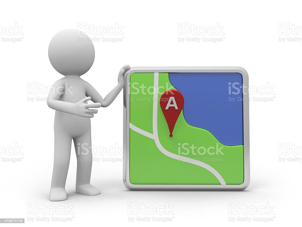 navigator royalty-free stock photo