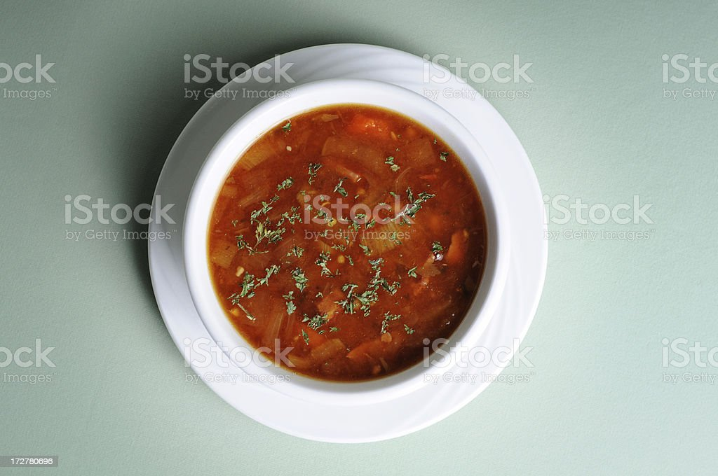 Navy Bean Soup royalty-free stock photo
