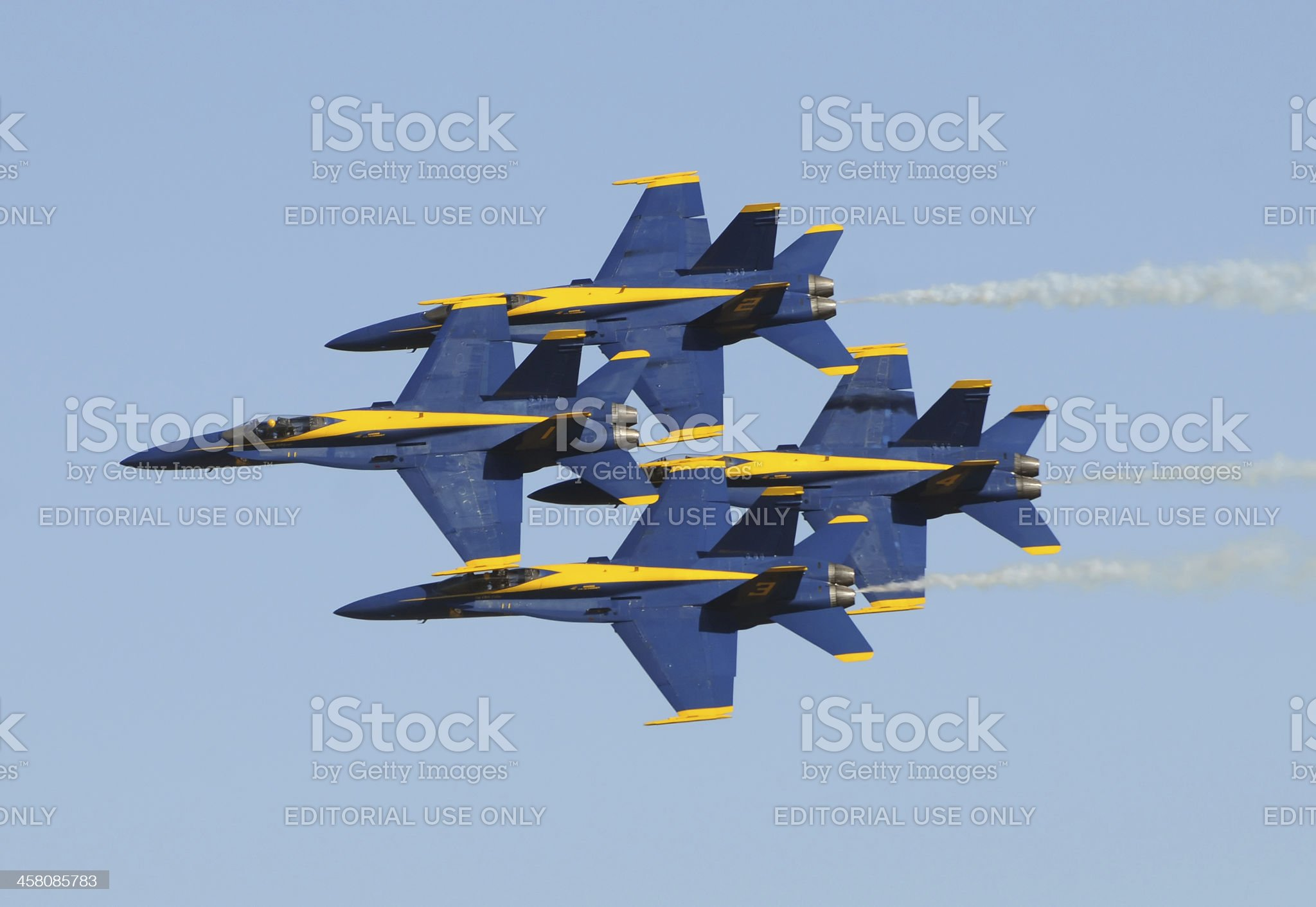 US Navy Blue Angels royalty-free stock photo