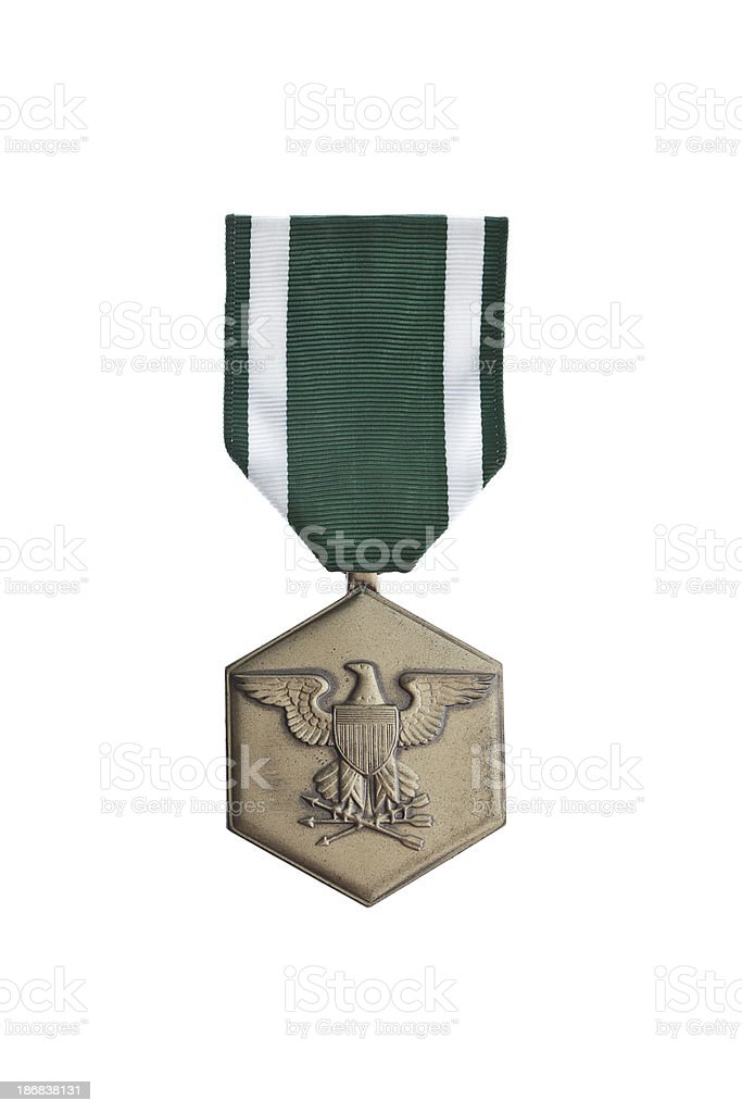 Navy Commendation Medal royalty-free stock photo