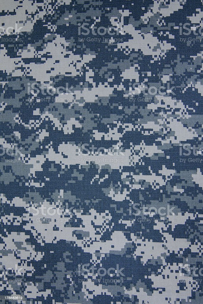 US navy digital camouflage fabric texture background stock photo