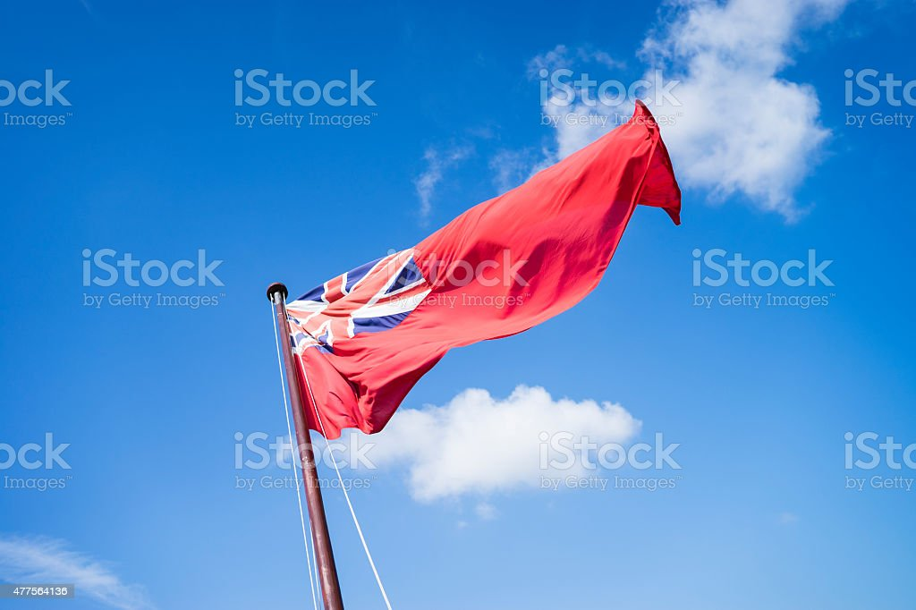 Navy flag stock photo