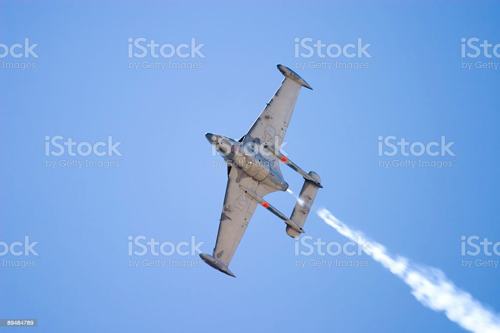 Navy Flyover royalty-free stock photo