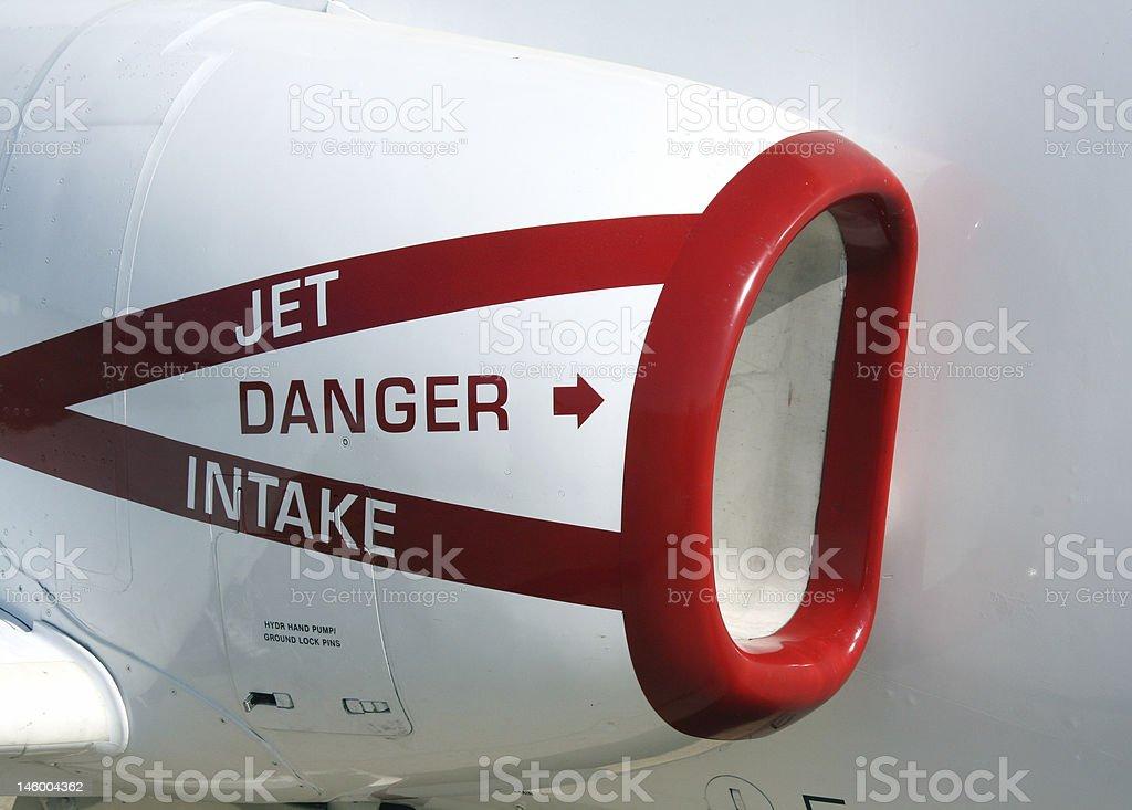 navy jet intake stock photo