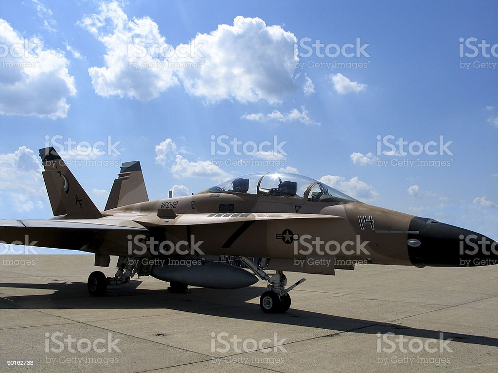 Navy Plane royalty-free stock photo