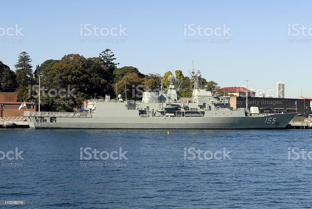 Navy Ship royalty-free stock photo