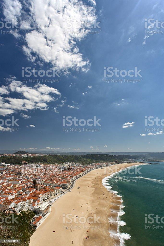 Nazar? (Portugal) royalty-free stock photo
