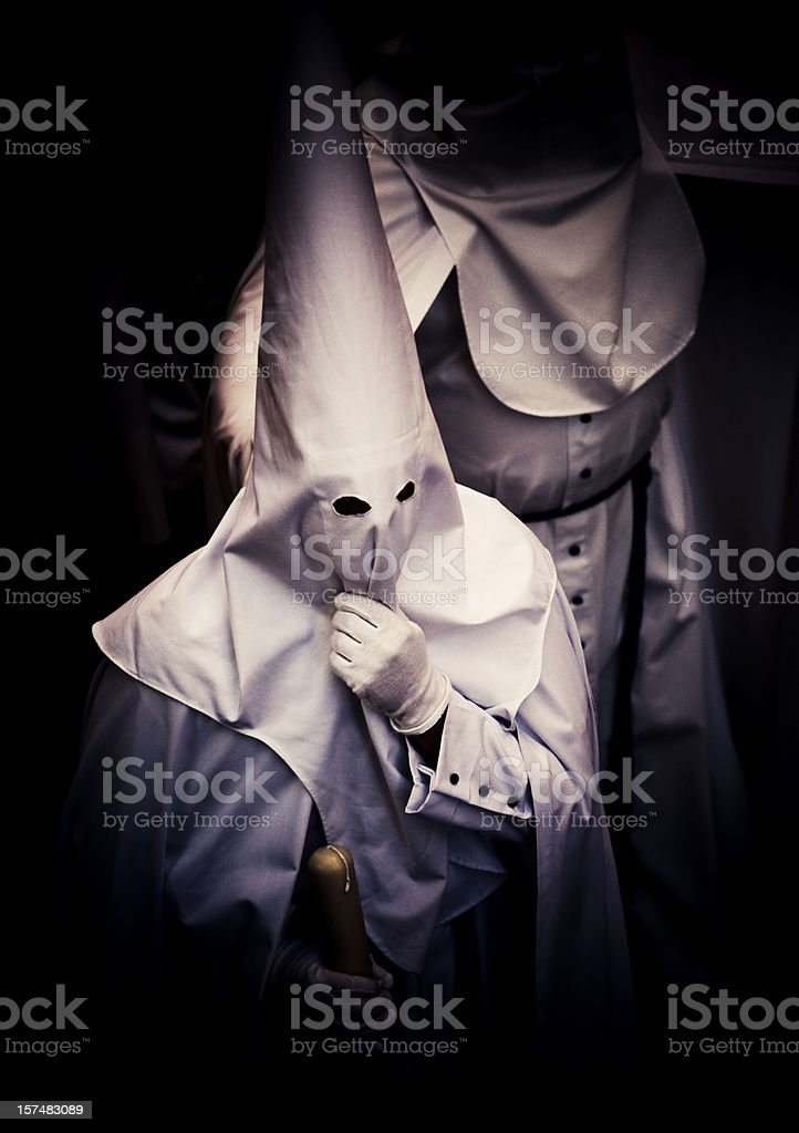 nazarenos parade royalty-free stock photo