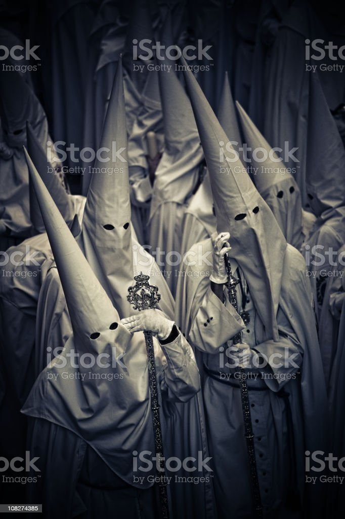 nazarenos stock photo