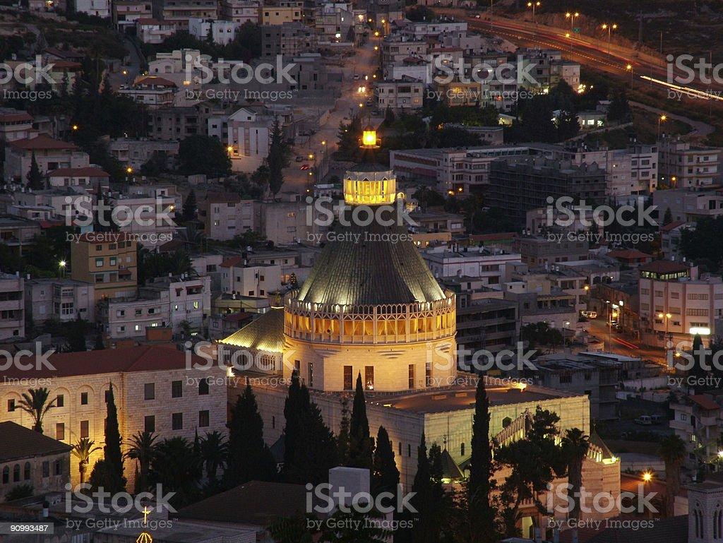 Nazareth Basilica - Israel stock photo