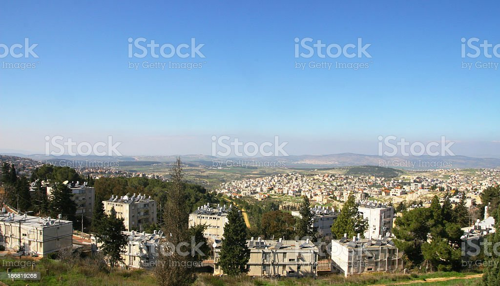 Nazareth, Israel stock photo