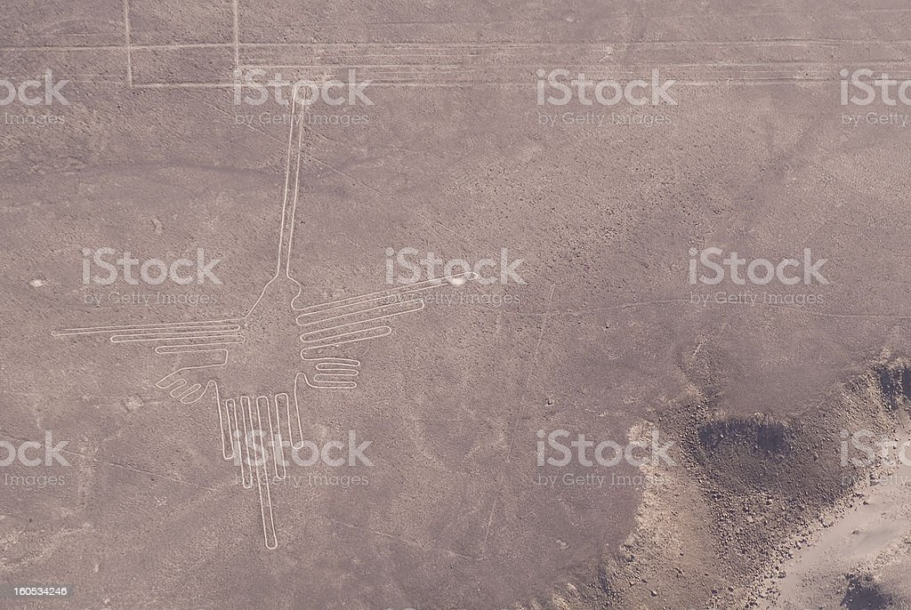 Nazca Lines royalty-free stock photo