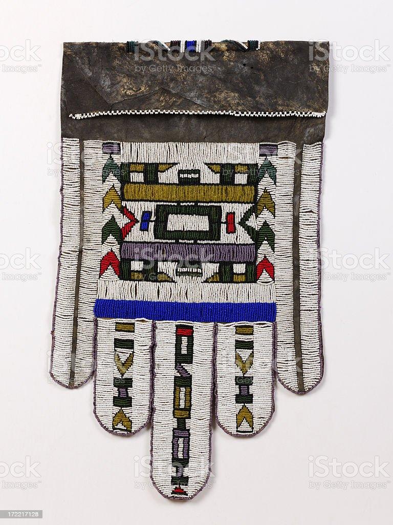 Ndebele Bead apron stock photo