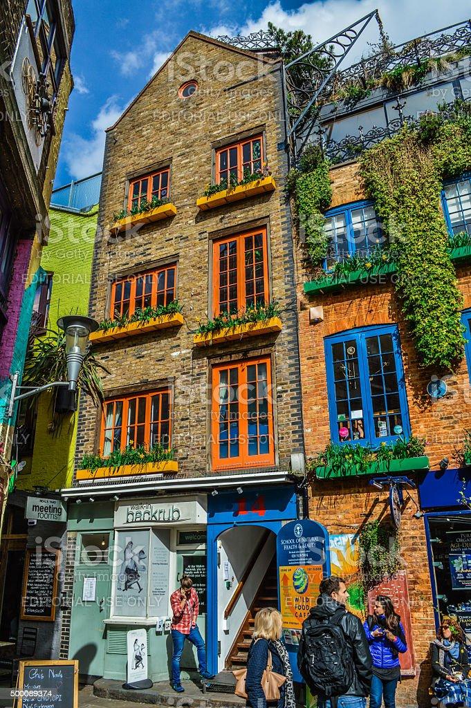 Neal's Yard in Covent Garden - London, UK stock photo