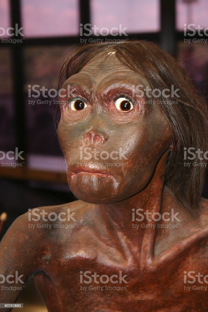 neanderthal royalty-free stock photo