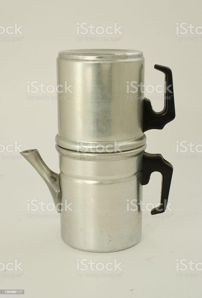Neapolitan coffee maker #1 stock photo