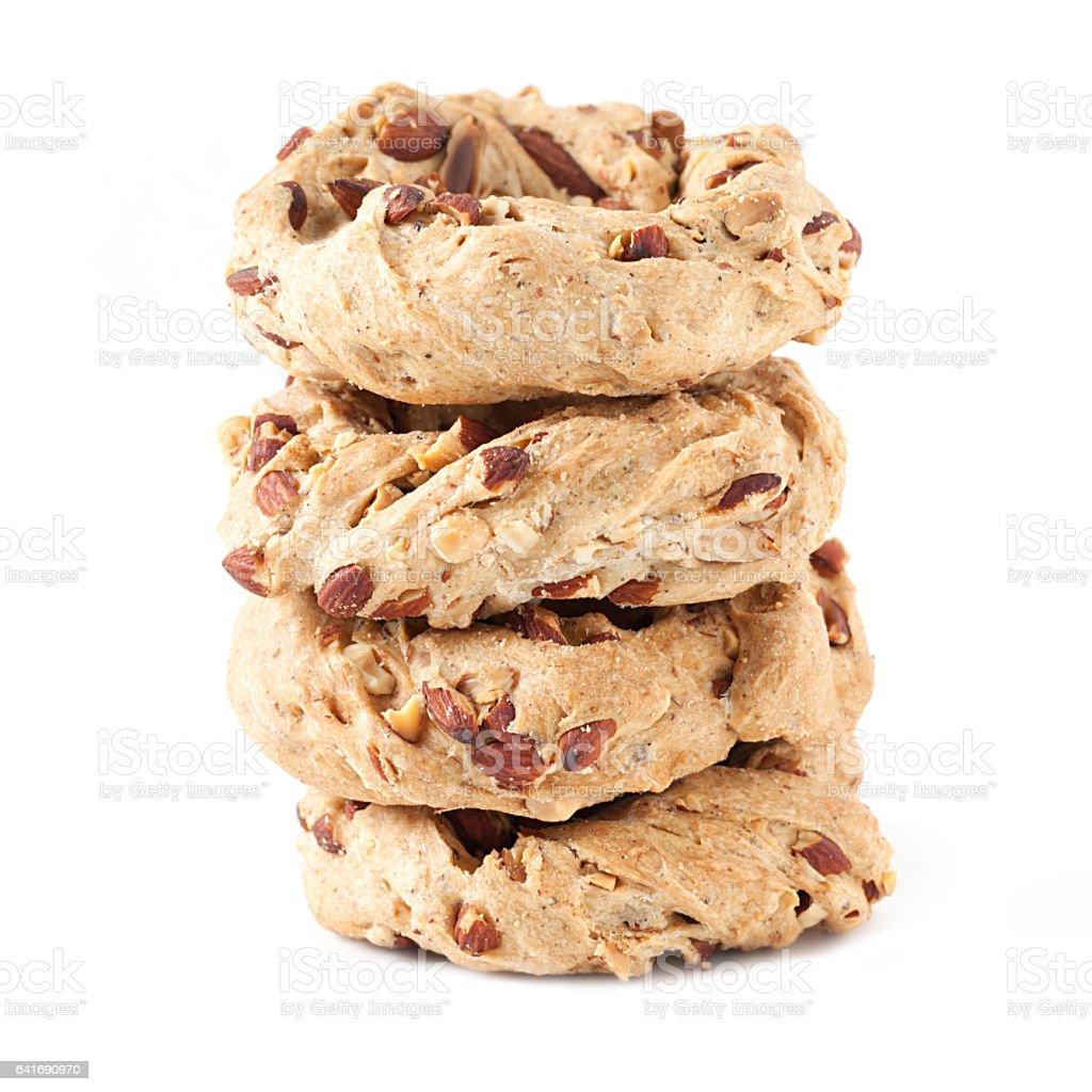 Neapolitan Cookies stock photo