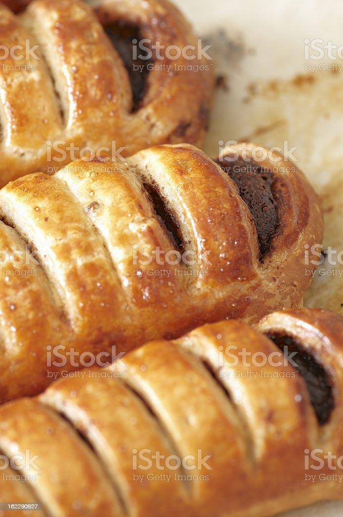 Neapolitan Pastries royalty-free stock photo