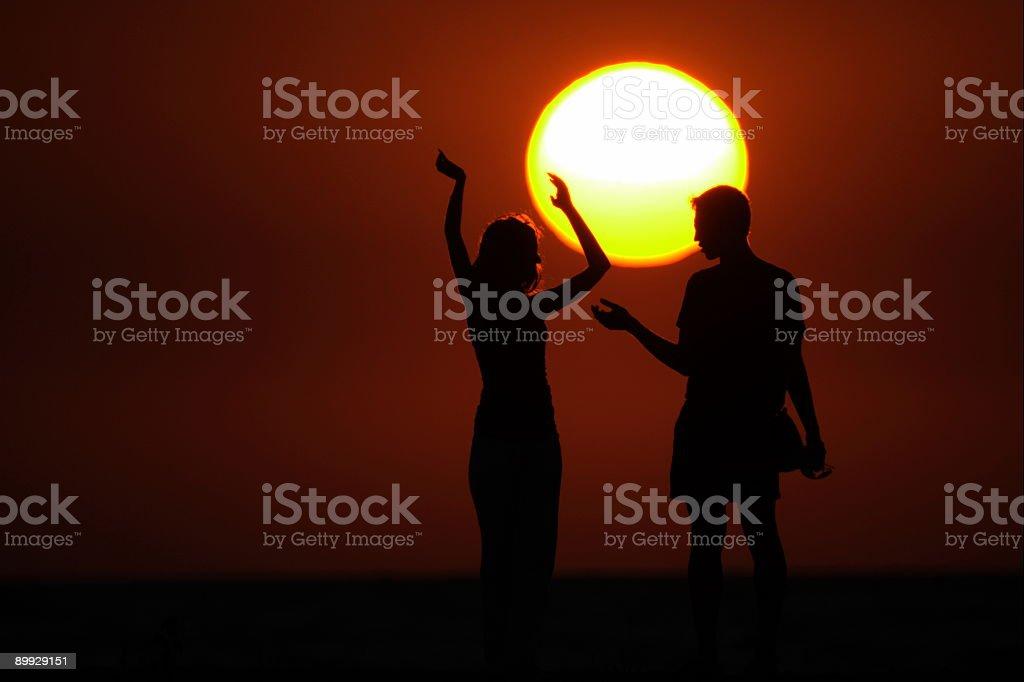 Near to the sun royalty-free stock photo