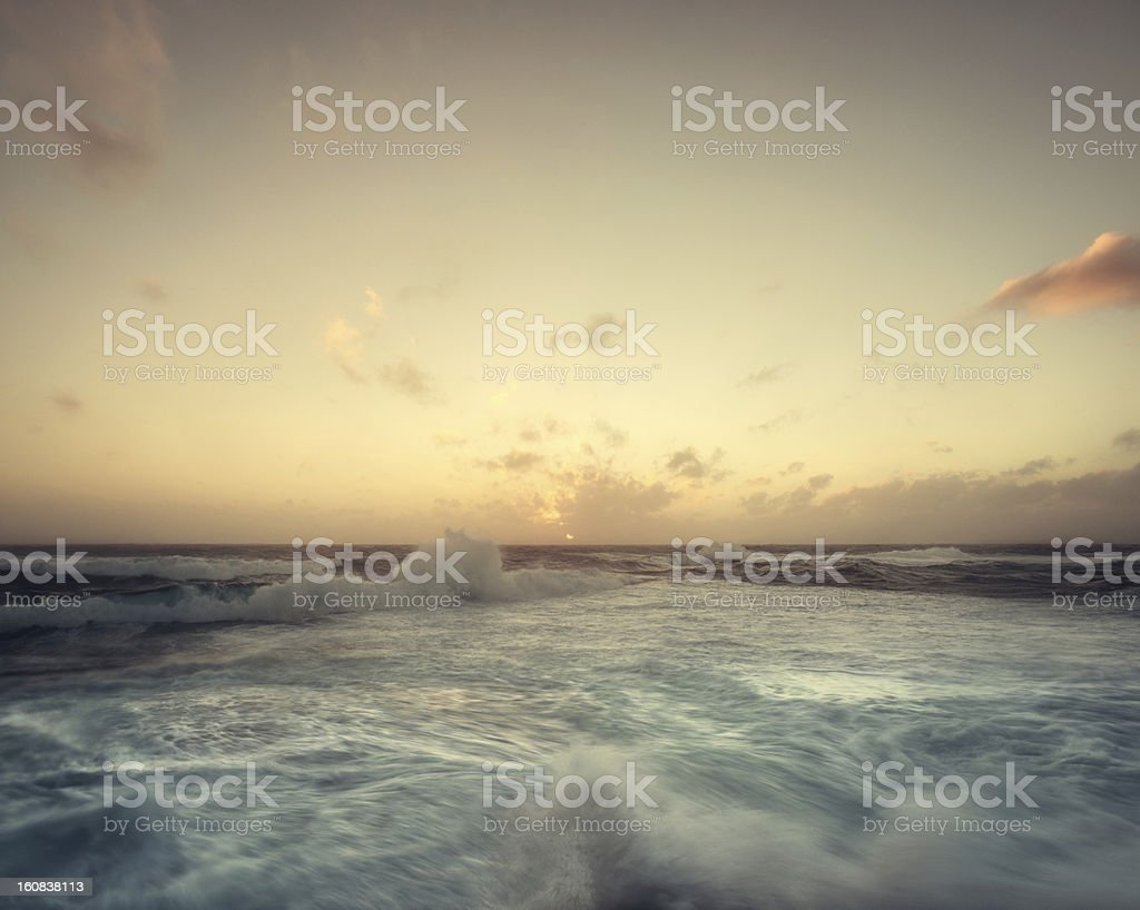 Nearing the Horizon royalty-free stock photo