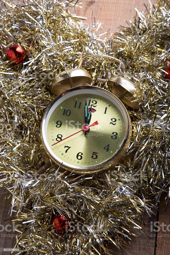 Nearly 12 O'clock Midnight,New Year 2017 stock photo