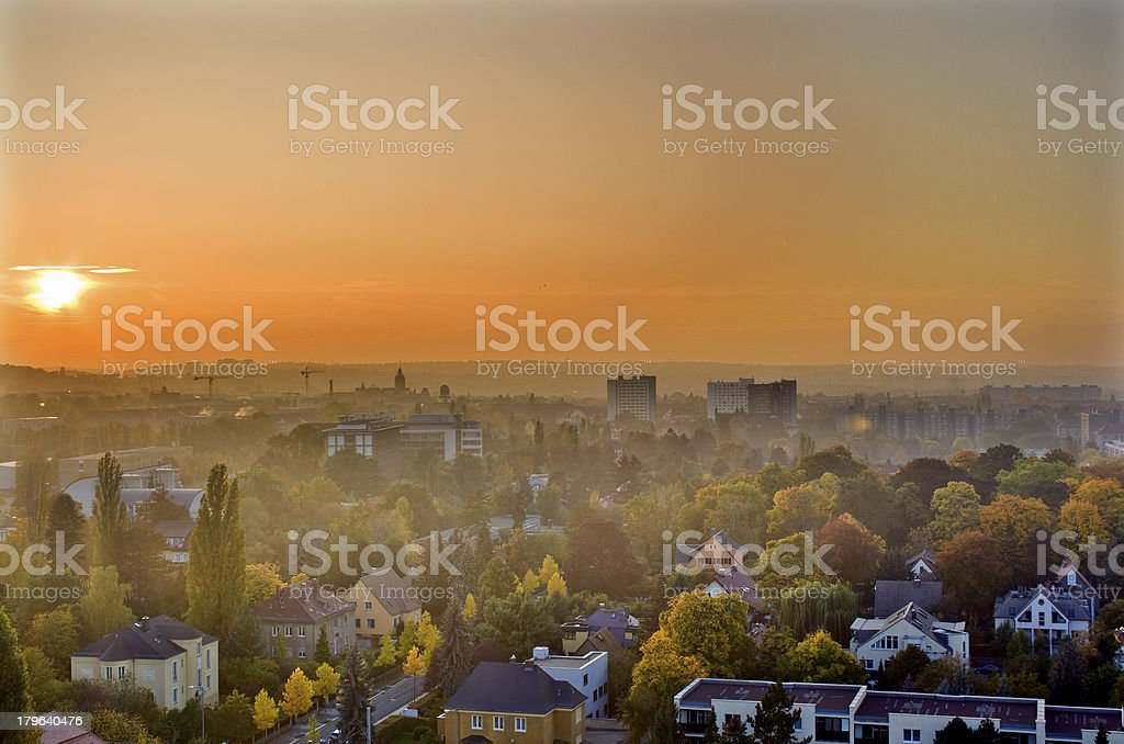 Nebelschwaden royalty-free stock photo